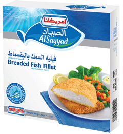 Alsayyad Breaded Fish Fillet Pack Americana Foods
